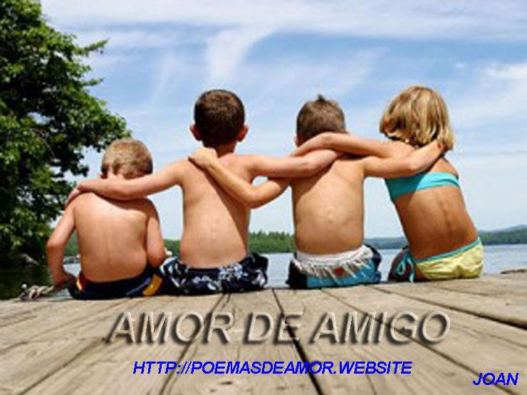 Amor de amigo es amarse a uno mismo