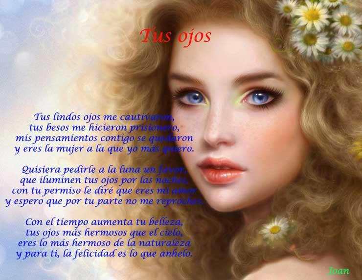Tus lindos ojos