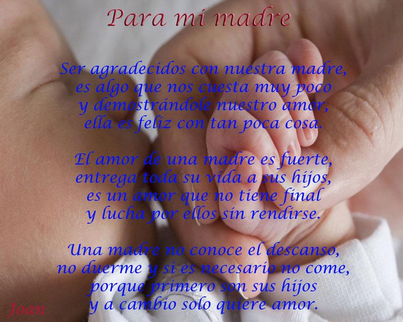 poema para mama