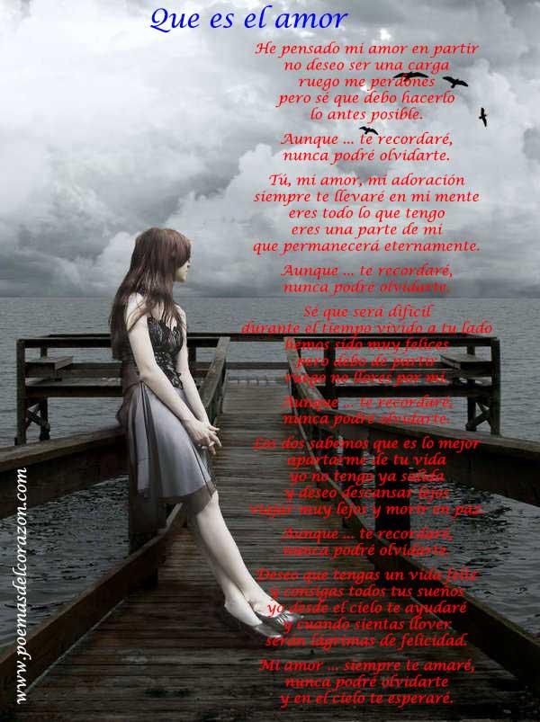 imagen poema que es el amor