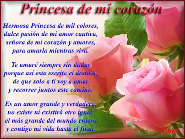 Princesa de mi corazon