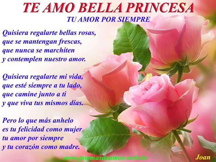 Tu amor por siempre bella Princesa