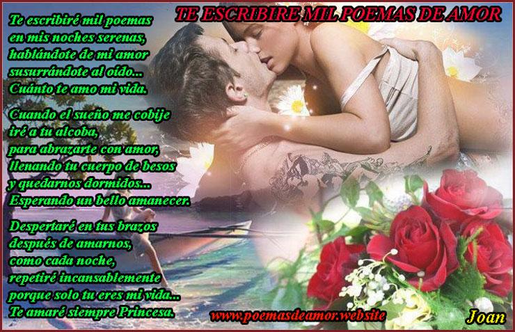 Mil poemas de amor para mi novia escribire