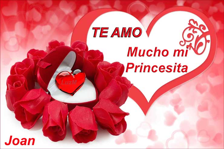 Mensajes con Te amo mucho mi Princesita