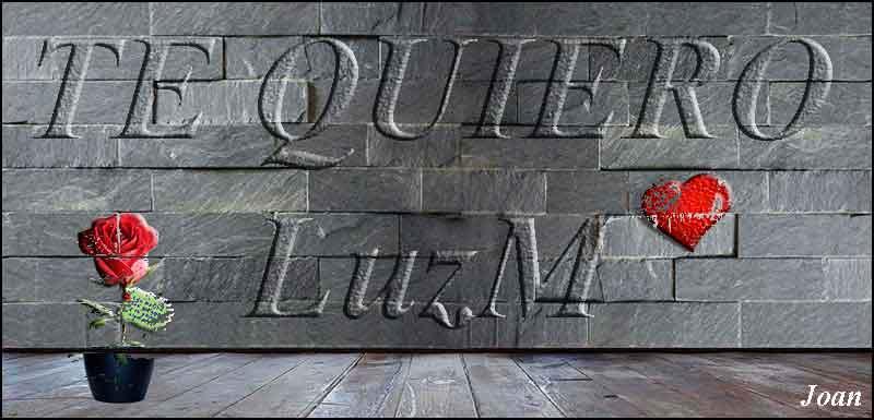 Mensajes de amor para LuzM