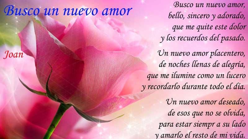 Busco nuevo amor