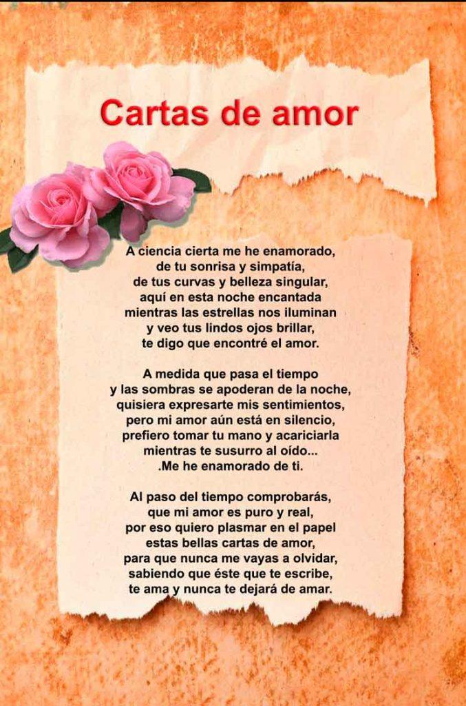 Cartas de Amor para mi novio