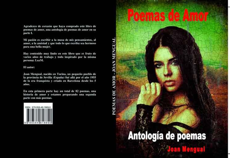 Libro poemas de amor portada