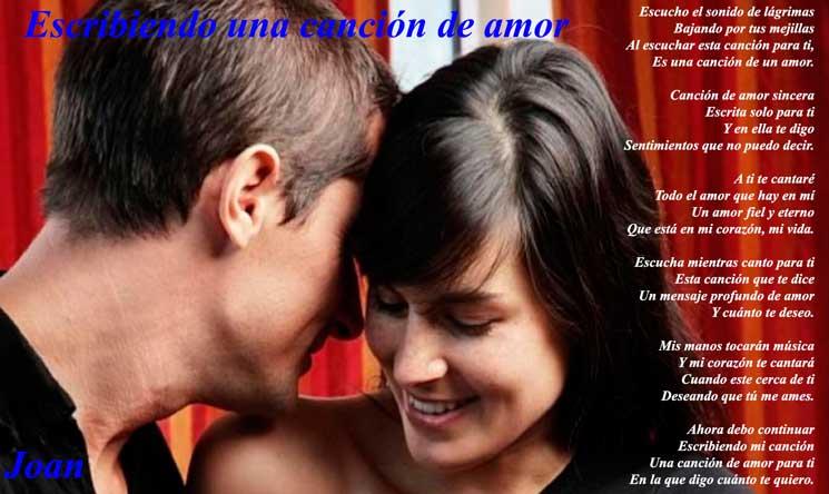 Imagenes de una cancion de amor poema