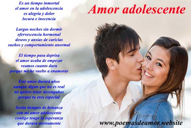 poemas de amor adolescentes