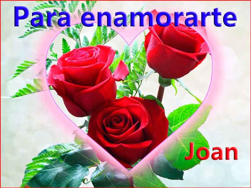 Para enamorarte – con una rosa en mano