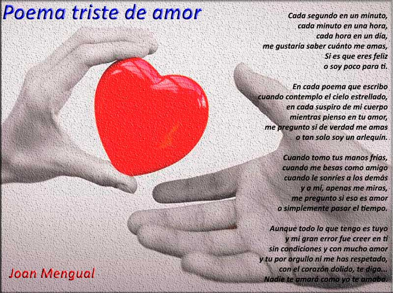 Poema triste de amor