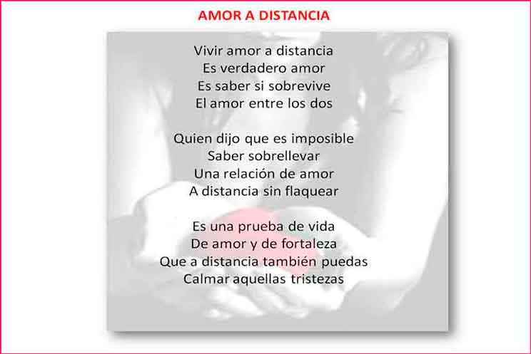 Amor Poemas De Amor A Distancia