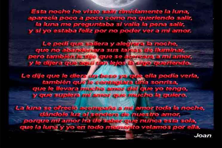 Hermosa Luna Poema De Joan Mengual