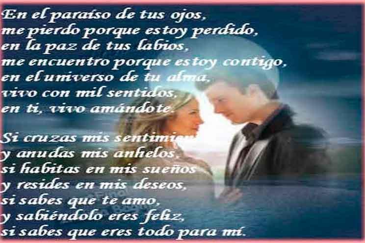Imagenes Con Poemas Cortos De Amor Para Mi Novia