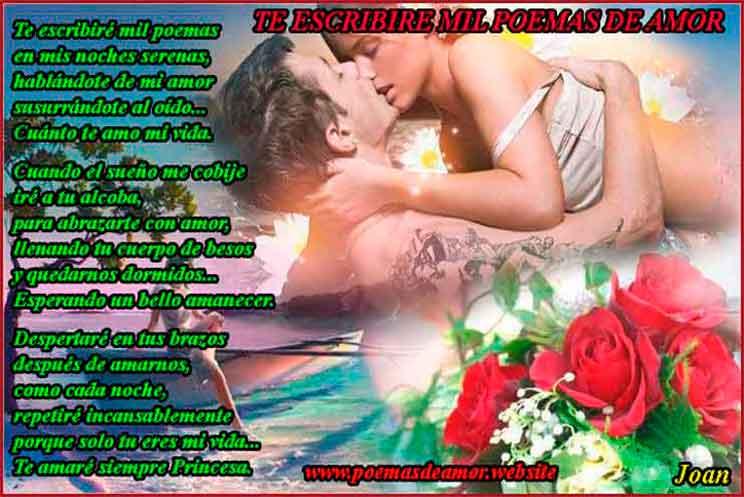Mil Poemas De Amor Para Mi Novia