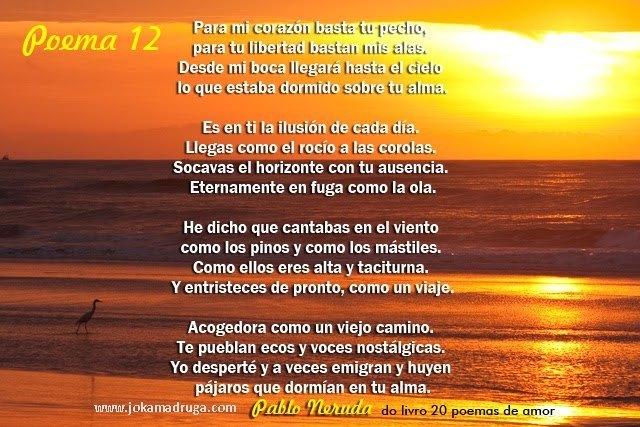 POEMA 12 - PABLO NERUDA